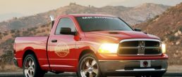 Dodge Ram Little Red Truck by Mr. Norm