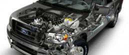 Car cutaway: Ford F-150 (2004)