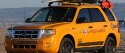 L.A. County lifeguards use Ford Escape Hybrids