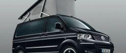 VW T5 Transporter in California motorhome mode