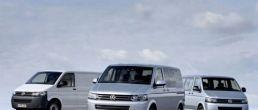 VW Caravelle Transporter family gets facelift