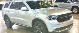 2012 Dodge Durango Magnum first image leaked