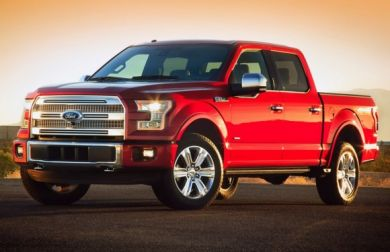 2015 Ford F-150 revealed at Detroit Auto Show