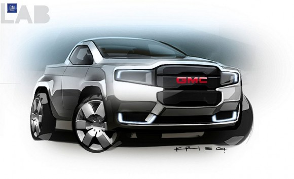 Gmc concept one truck
