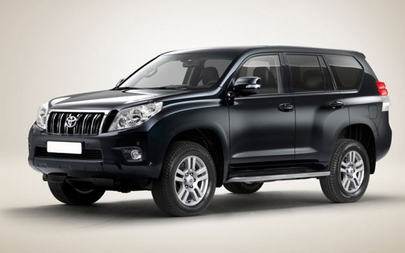 The 2010 Toyota Land Cruiser, also known as Prado in some markets,