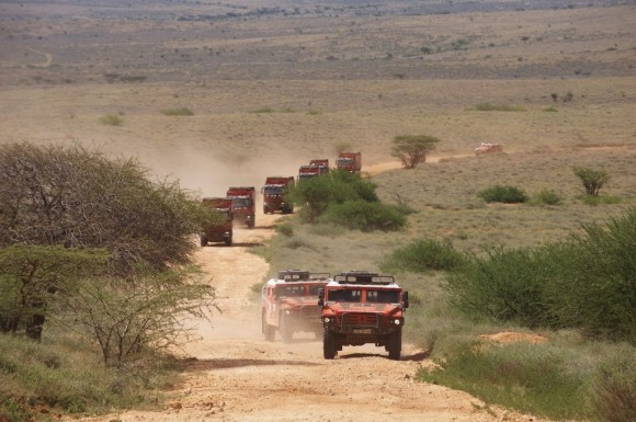 11 Renault Cape-To-Cape Expedition - Kenya