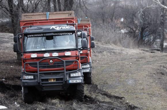 3 Renault Cape-To-Cape Expedition - Ukraine