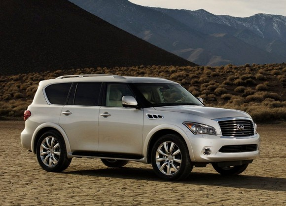 Infiniti today revealed its all-new 2011 Infiniti QX full-size SUV at a