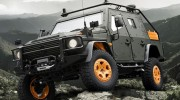 Mercedes-Benz G-Wagen Armored Patrol Concept