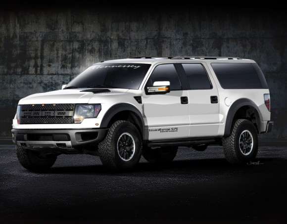 Hennessey VelociRaptor APV based on Ford F-150 Raptor