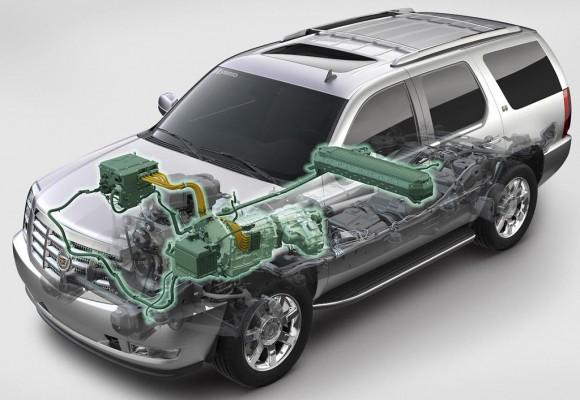 2009 Cadillac Escalade Hybrid Cutaway
