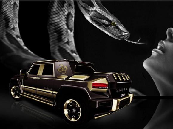 Mercedes-Benz GL63 AMG Black Snake