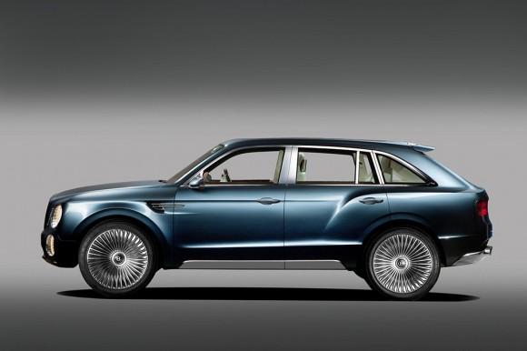 Bentley EX9 F Concept