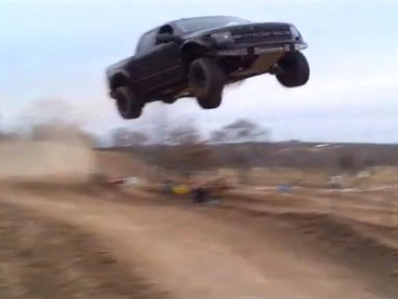 Ford F-150 SVT Raptor Jump