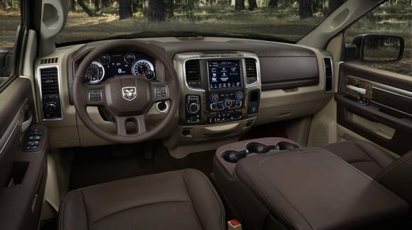 2014 Ram 1500 Mossy Oak interior