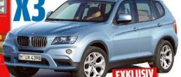 2010 BMW X3 coming by 2009 end