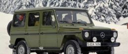 History of the Mercedes-Benz G-Wagen (1979-2009)