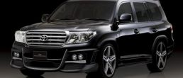 Wald creates Black Bison for Toyota Land Cruiser