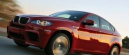 BMW X6 M video on the race track