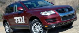 VW Touareg TDI diesel hot U.S. sales