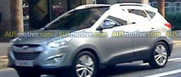 2010 Hyundai Tucson ix35 spotted filming