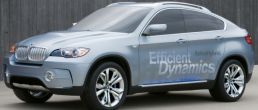 BMW X6 Hybrid most powerful gas-electric vehicle