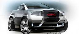 GMC bare necessities green concept truck