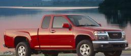 GMC, Chevy & Isuzu midsize pickup NHTSA recall