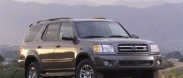 2003 Toyota Sequoia recalled for faulty VSC