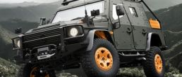 Mercedes-Benz G-Wagen Armored Concept takes the stage