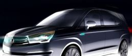 2014 Ssangyong Rodius teaser images released