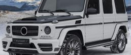2013 Mercedes-Benz G-Class gets tuned by Mansory