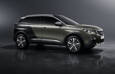 2017 Peugeot 3008 GT crossover revealed